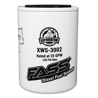 Filters And Fluids - Filters - FASS - XWS-3002 EXTREME WATER SEPARATOR