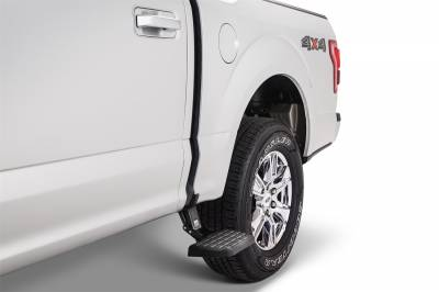 Exterior Accessories - Amp Research  - AMP Research 75412-01A BedStep2 Retractable Truck Bed Side Step for 2015-2019 Ford F-150
