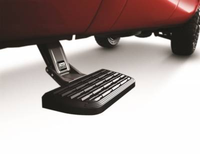 Exterior Accessories - Amp Research  - AMP Research 75400-01A BedStep2 Retractable Truck Bed Side Step for 1999-2013 Silverado & Sierra (Dually requires 75610-01A for install), All Beds