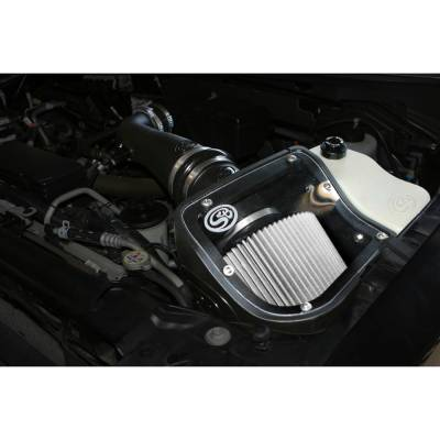 Air Intakes And Parts - S&B Filters - COLD AIR INTAKE FOR 2009-2010 FORD F-150, RAPTOR 5.4L 75-5050