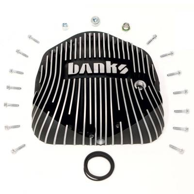 Dodge/Cummins - Differential - Banks Power  - Differential Cover Kit Satin Black/Machined, w/Hardware