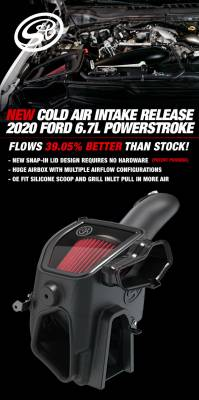 S&B Filters - COLD AIR INTAKE FOR 2020 FORD POWERSTROKE 6.7L - Image 5