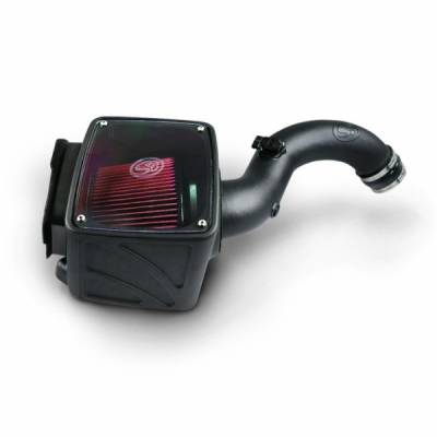 Chevy GM/Duramax - Air Intakes And Parts - S&B Filters - S&B Cold Air Intake Kit 04-05 Duramax LLY Dry Filter